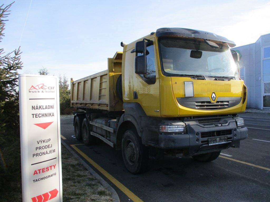Renault  Kerax 450.35 PR 6x6 S3 Bordmatic