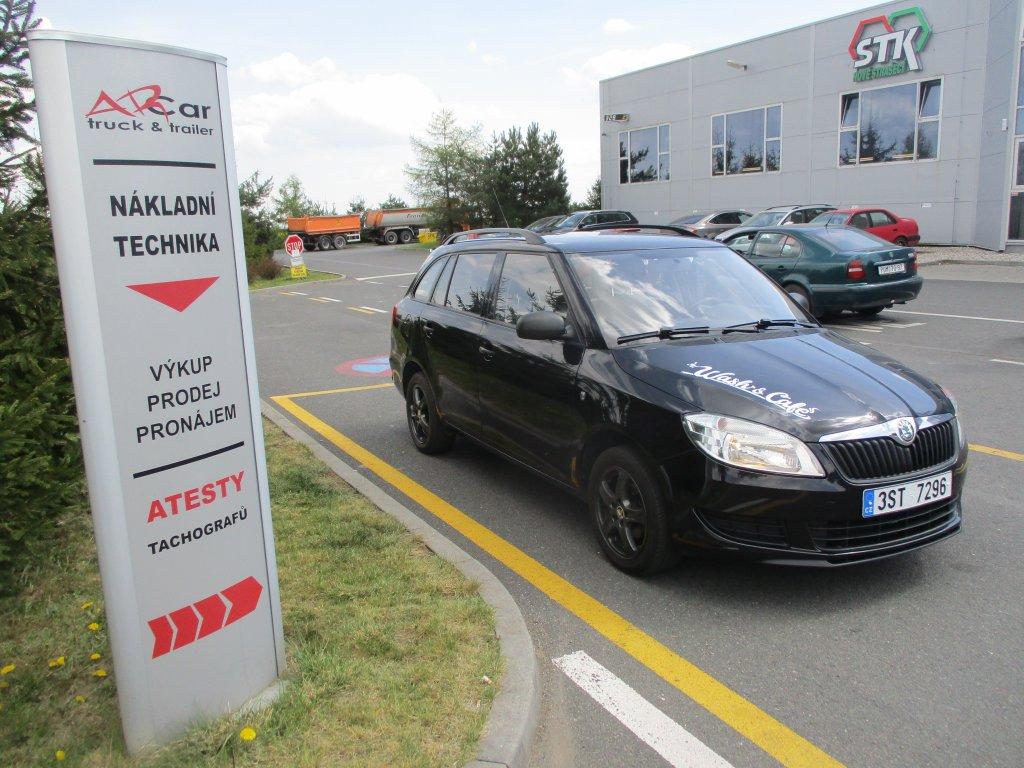 Škoda Fabia benzin + LPG