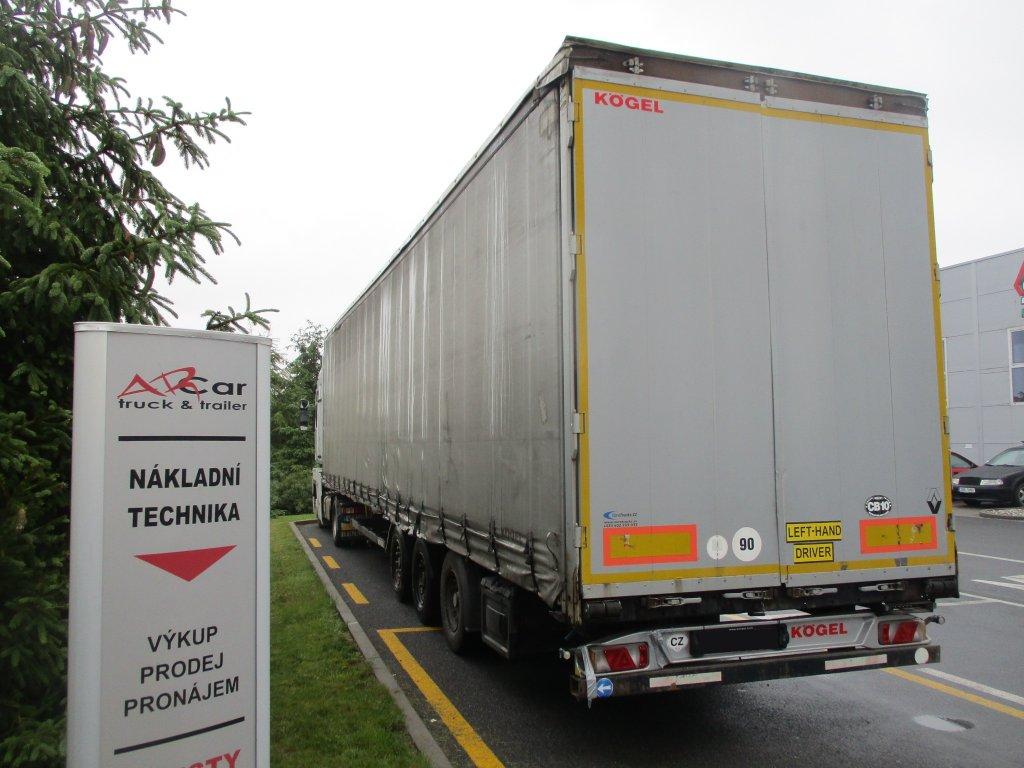 Kögel   SNCO 24 P 90 LowDeck zvedací náprava