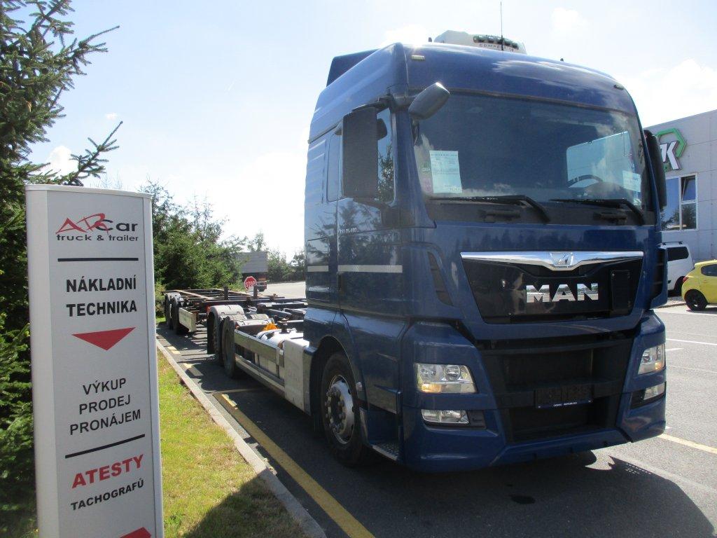 MAN  TGX 26.480 Euro6 + Krone 2014