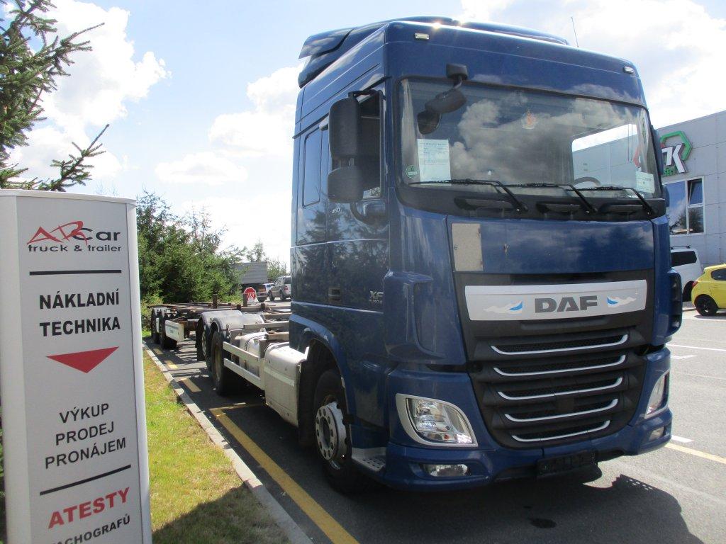 DAF  XF 460 SC Euro 6 + Krone r.v. 2013