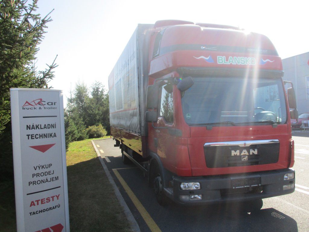 MAN  TGL 8.180 4x2 Euro5 Manual plošina