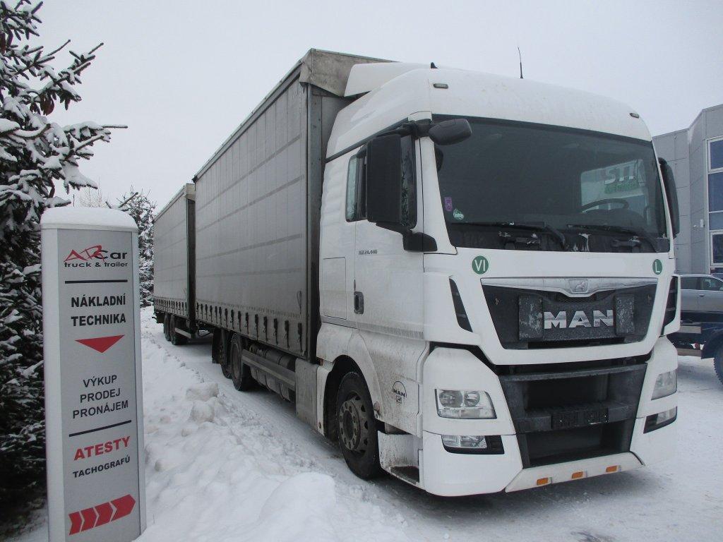 MAN  TGX 24.440 6x2 Euro6 + Panav BJ 2015
