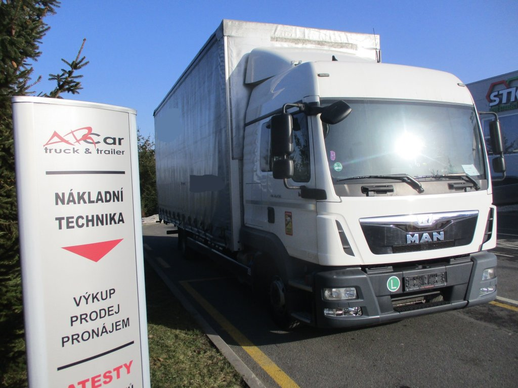 MAN  TGL 12.250 Manual Euro6 plošina
