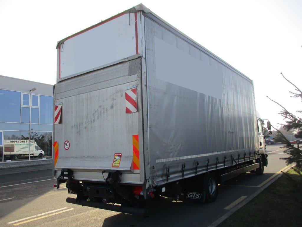 MAN  TGL 12.250 Manual Euro6 plošina