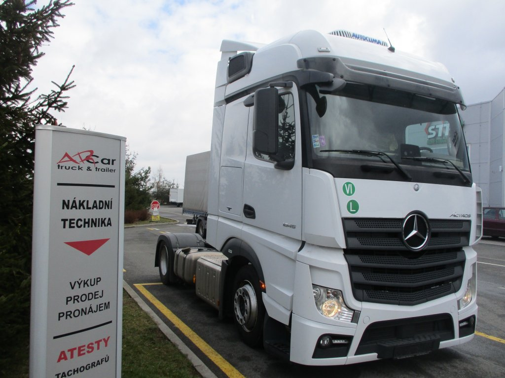 Mercedes-Benz  Actros 1845 LSNRL LowDeck PPC BigSpace