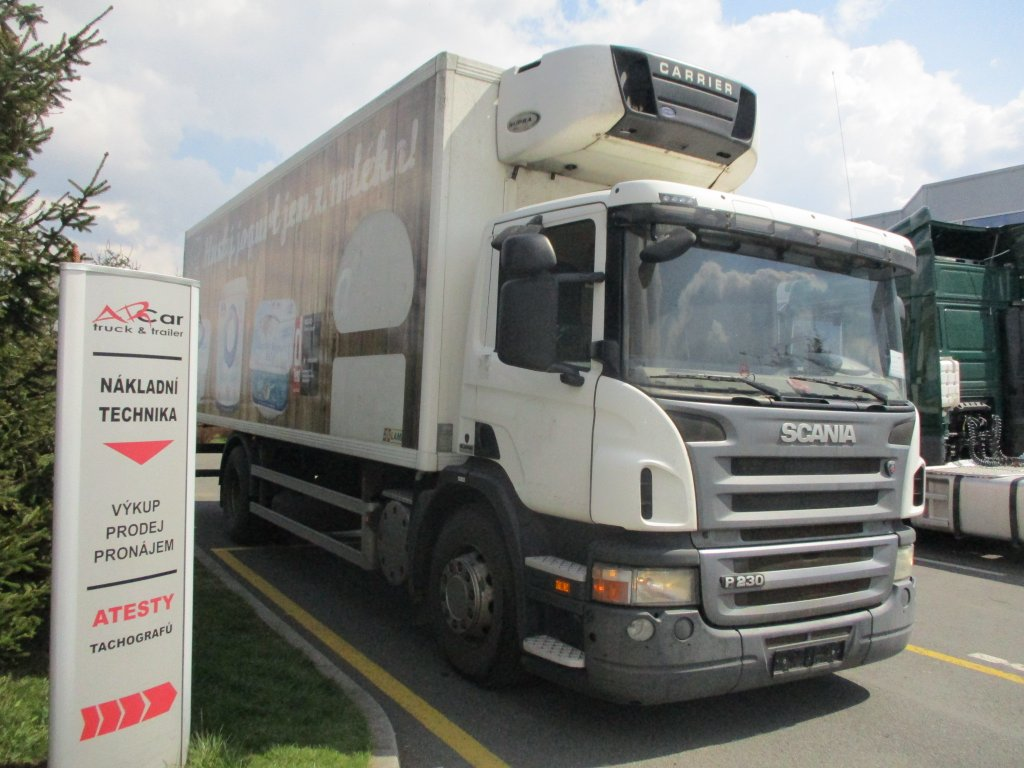 Scania  P 230 LB 4x2 agregat Carrier Supra 850