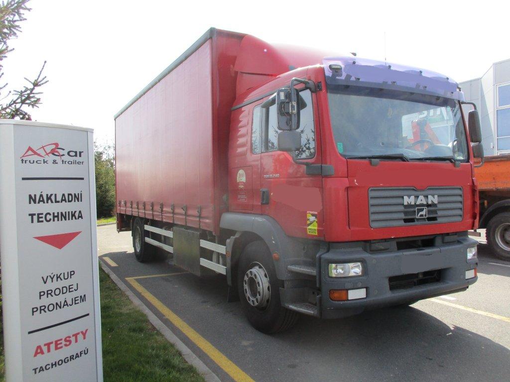 MAN  TGM 18.240 Euro4 plošina