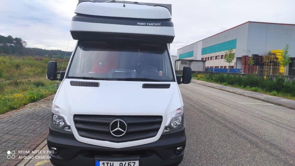 Mercedes-Benz  Sprinter 319 6 válec spaní