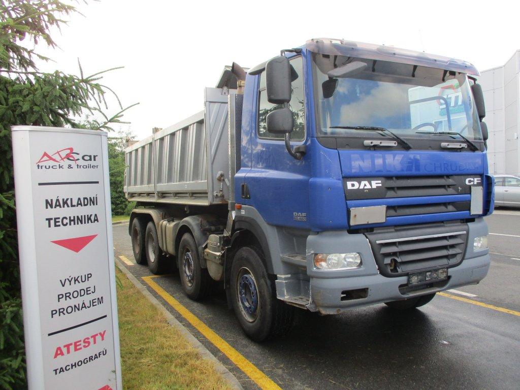 DAF  FAD CF 85.460 8x4 3str.sklápěč
